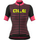 Alé Cycling R-EV1 Marina SS Jersey Women black-fluo pink